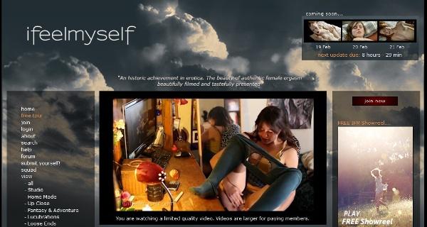 IFeelMySelf.com - Siterip (2013 bis 01.2017) Cover