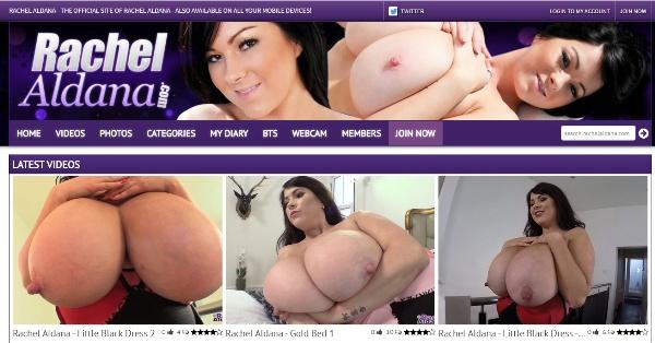 RachelAldana.com - Siterip Cover