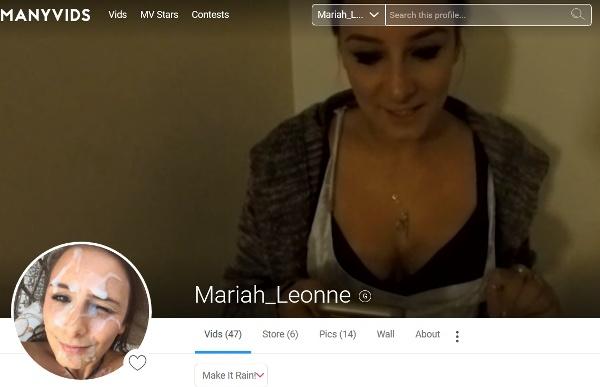 ManyVids.com - Mariah Leonne - Tinder Hookups [1080p] Cover