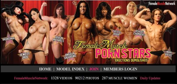 FemaleMusclePornStars.com - Siterip 2011-2013  Cover