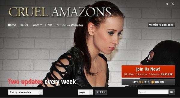 CruelAmazons.com - Cruel-Mistresses.com - Siterip 2014 - 2016