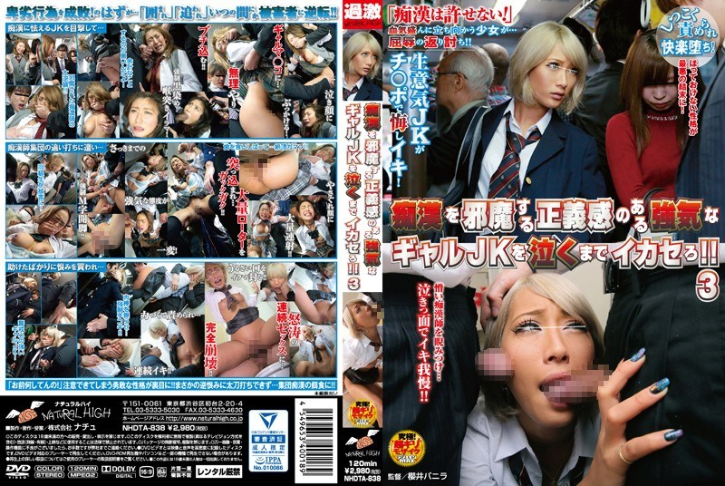NHDTA-838 AIKA - We Make Headstrong Schoolgirls Who Think They Can Stop Molesters Cum 'Till They Cry! 3  (Natural/2016)