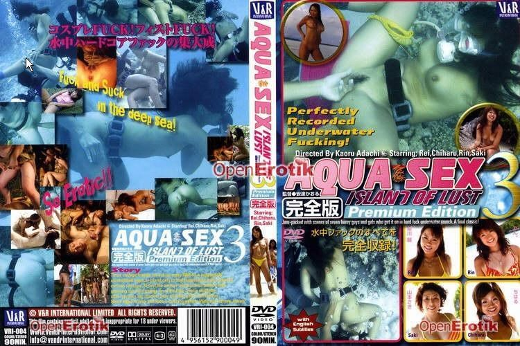 VRI-004 REI, CHIHARU, RIN, SAKI - Aqua Sex 3. Island of Lust [V&R/2003]
