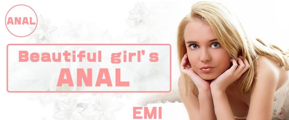 EMI - Beautiful Girl's Anal EMI[Kin8tengoku.com/2016]