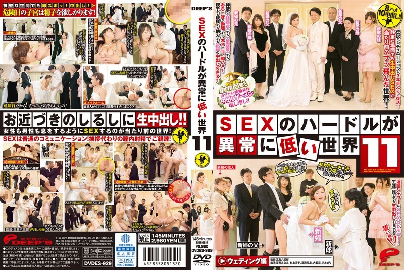 [DVDES-929] A World with Exceptionally Low Hurdles to SEX 11 (480p)