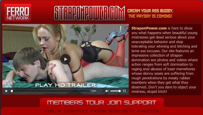 StraponPower.com – SiteRip (2007-2010)