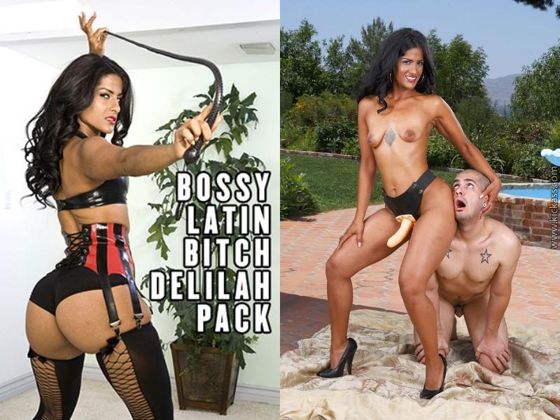 Bossy Latin Bitch Delilah – MegaPack