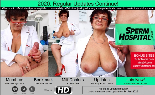 SpermHospital.com – Siterip (2015-2019) [720p]