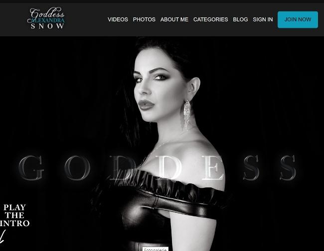 Goddess Alexandra Snow – MegaPack