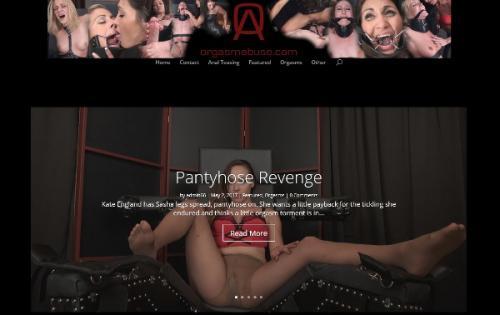 OrgasmAbuse.com - Siterip (2016-2017) [1080p] Cover